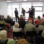 Peaminister kohtus Haabersti pensionäridega